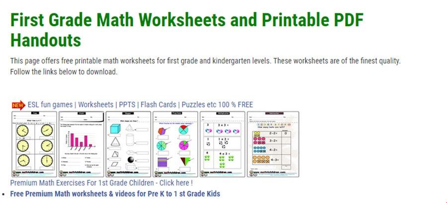 Pre K Math Worksheets Size Pre Kindergarten Math Worksheets