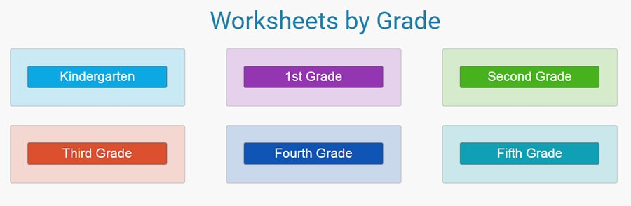 math worksheets grade wise