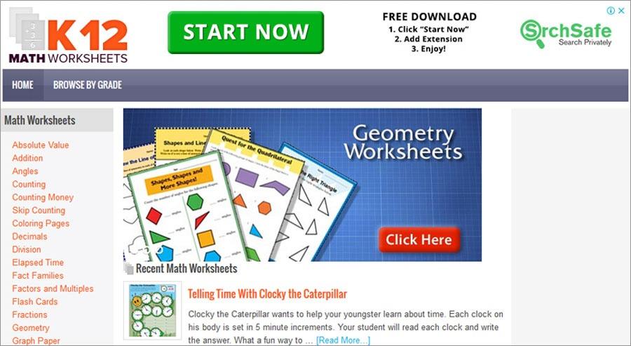 Division Worksheets k12mathworksheets
