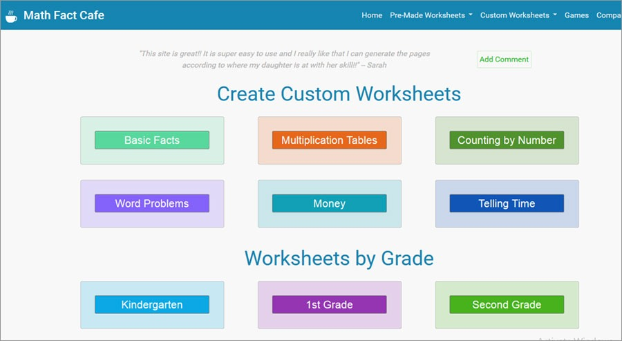 free first grade math worksheets printable 20