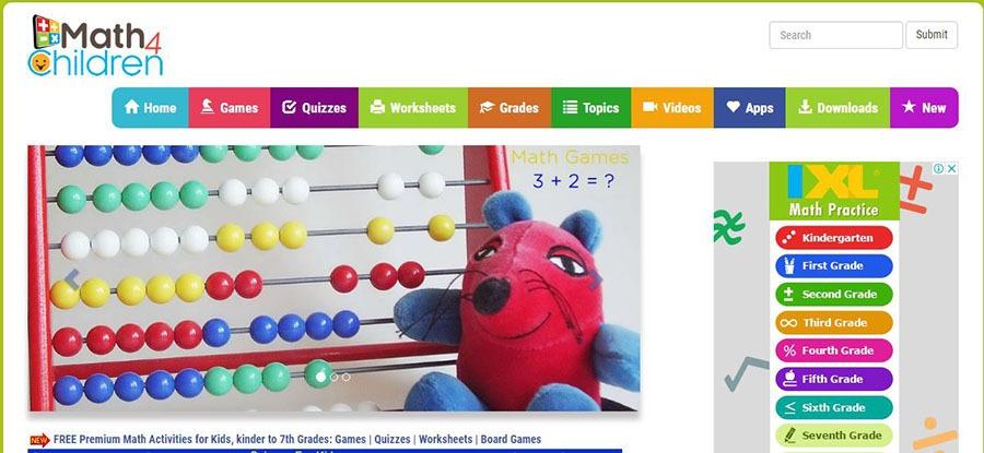 math4children worksheets