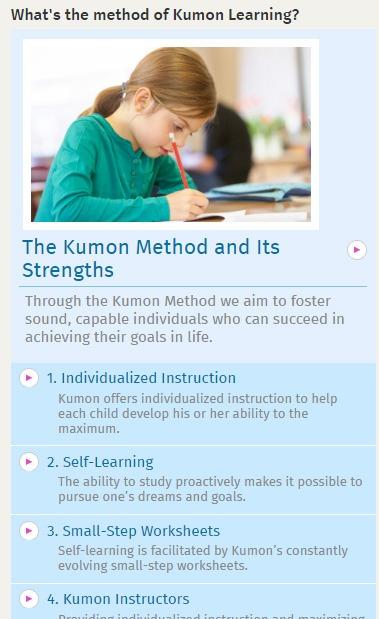 kumon teaching method