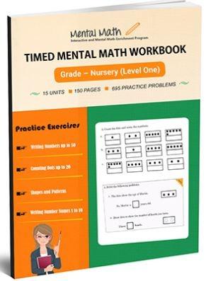 mental math grade one book