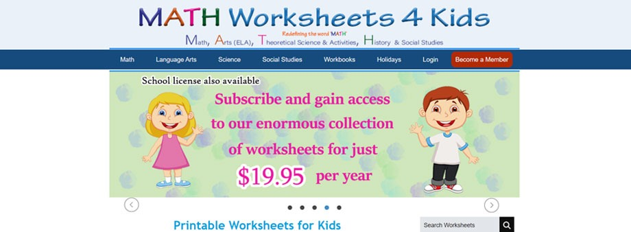4th grade math worksheets free with mathworksheets4kids
