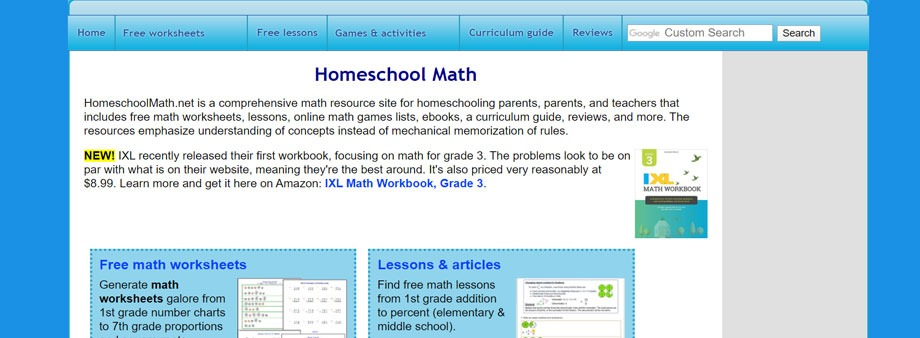 6th grade math worksheets free homeschoolmath