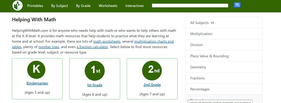fourth grade math worksheets free with Helpingwithmath