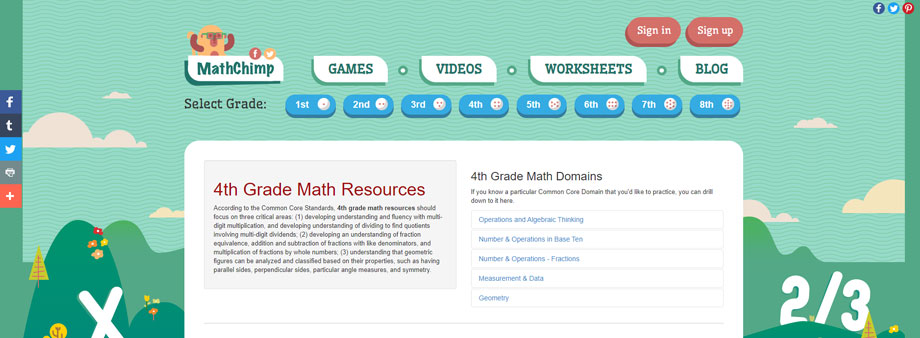 free fourth grade math worksheets with mathchinp