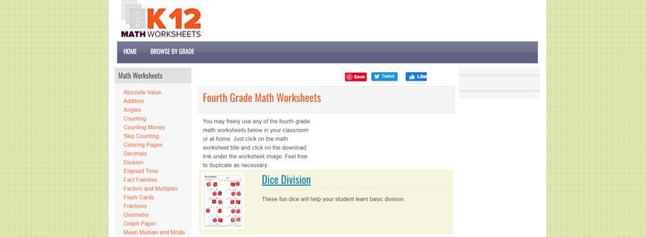 free printable 6th grade math worksheets k12mathworksheets