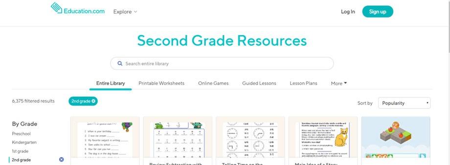 free printable second grade math worksheets education