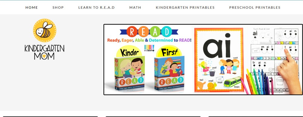 math exercise for kindergarten kids