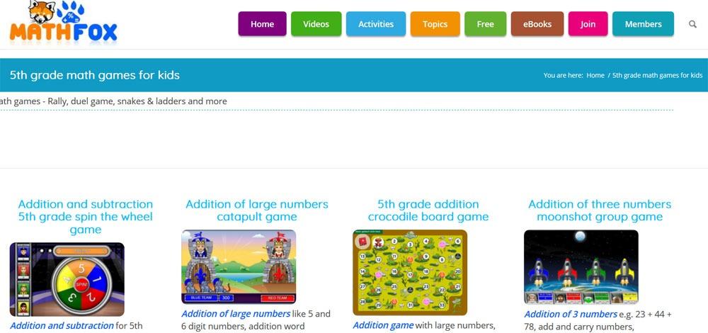 free printable fifth grade math worksheets