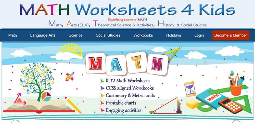 free printable math worksheets for kindergarten and first grade 20