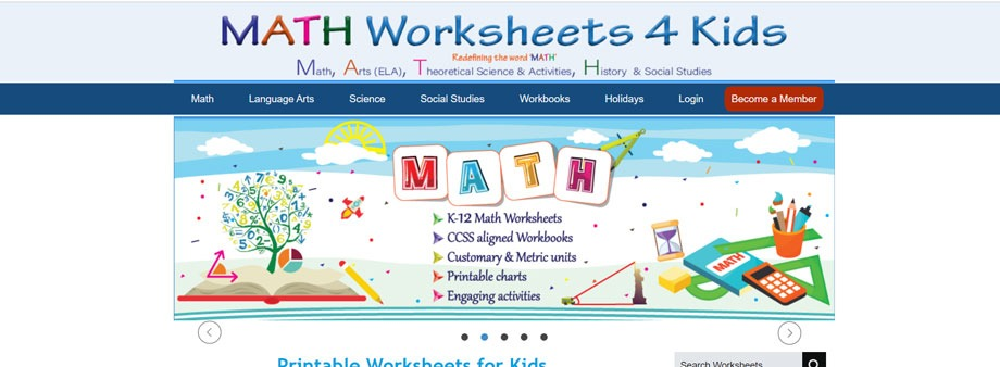 sixth grade free math worksheets Mathworksheets4kids